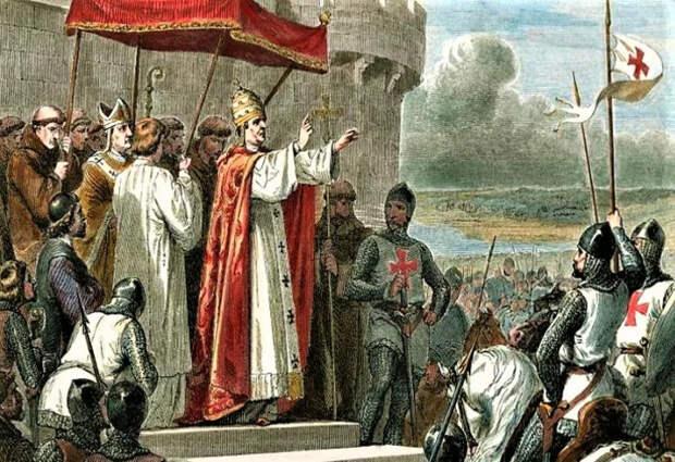 Походы благославляла Католическая церковь