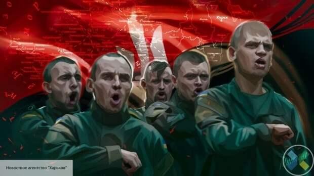 Возрождение фашизма в центре Европы: на Западной Украине нацисты зигуют с оружием