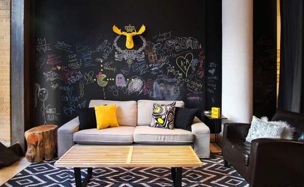 Креативные стены