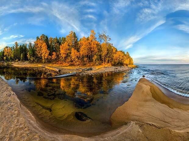Красота Байкала (Байкал осенью)