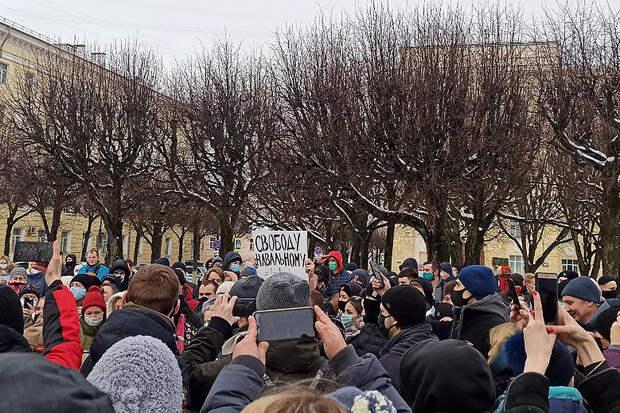 Первый срок по зимним протестам в России получил житель Владимира
