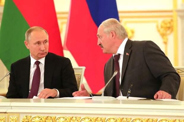Владимир Путин и Александр Лукашенко. Фото: Kremlin Pool/Global Look Press/www.globallookpress.com