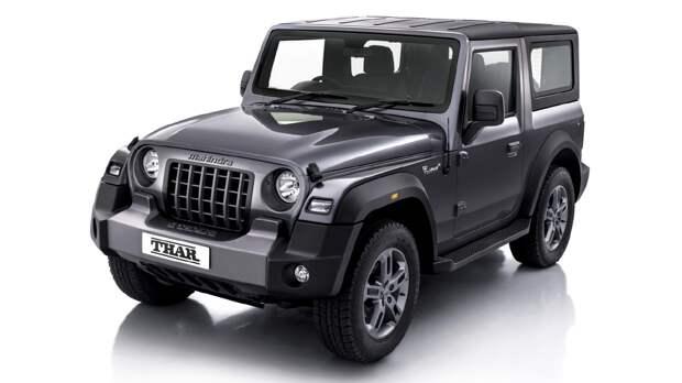 Страшный сон Jeep стал явью: новый Mahindra Thar вызвал ажиотаж на рынке