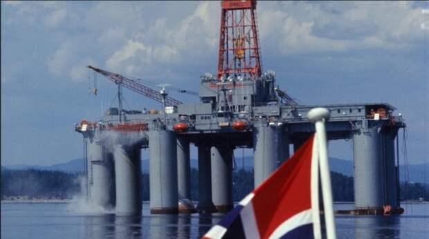 Норвегия добыча бурение