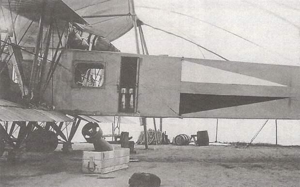 Воздушный бой тяжелого бомбардировщика «Илья Муромец Киевский». Лето 1915 года