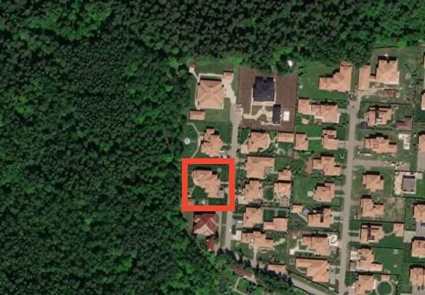 Дом Олега Богомолова в коттеджном поселке