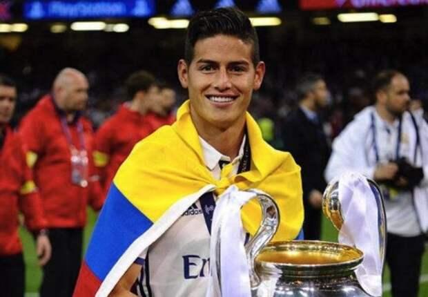 Футболист сборной Колумбии бросил семью из-за модели из Петербурга