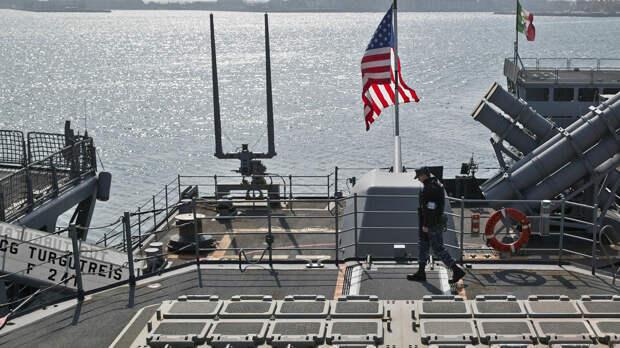 Американские корабли в Черном море