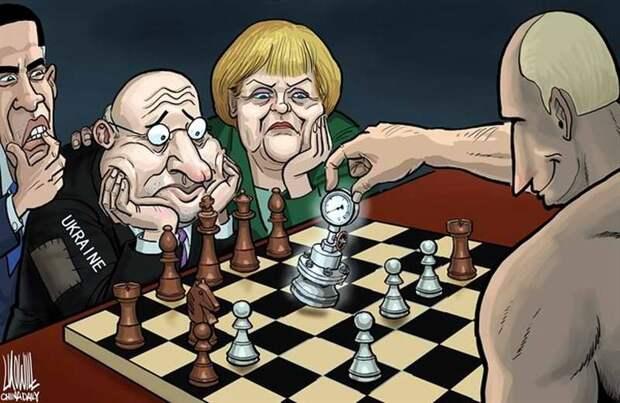 Загадочный Путин. Лидер побеждающий без стратегии, идеологии третий десяток лет.