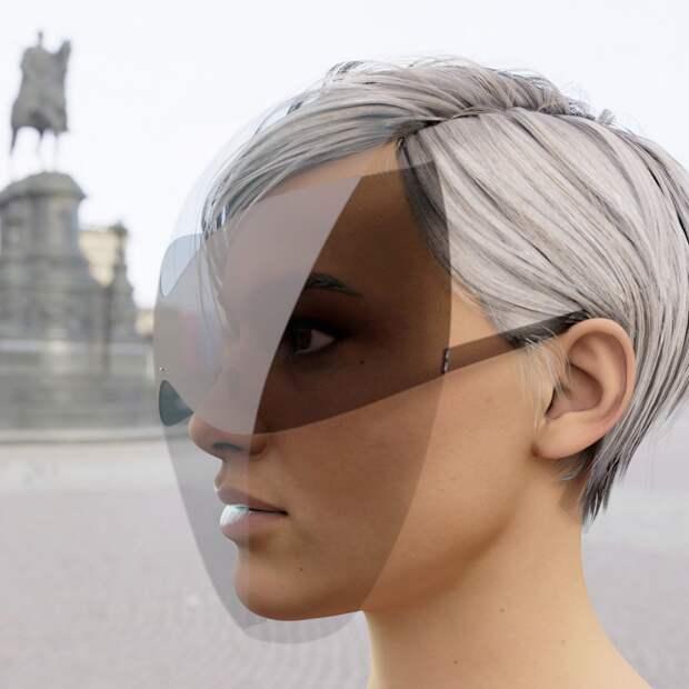 Нераздражающая маска от вируса