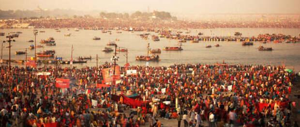 Фестиваль Кумбха-Мела в Индии. Год 2013