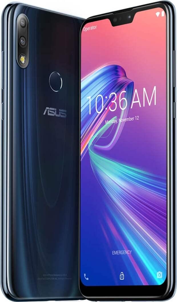 В России представлен 6,3-дюймовый смартфон ASUS ZenFone Max Pro (M2)