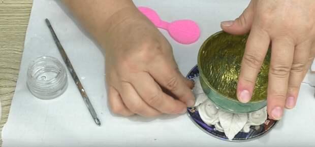Как настоящая! Малахитовая шкатулка своими руками из самых простых материалов