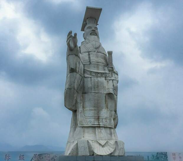 Скульптура в мавзолее Цинь Шихуанди