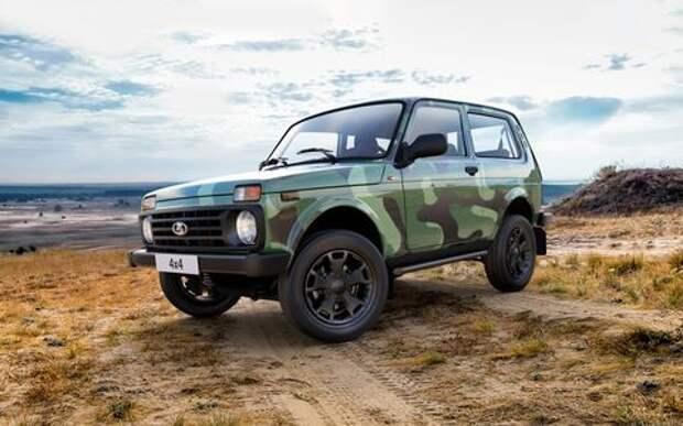 АВТОВАЗ поднял цены на внедорожник Lada 4x4