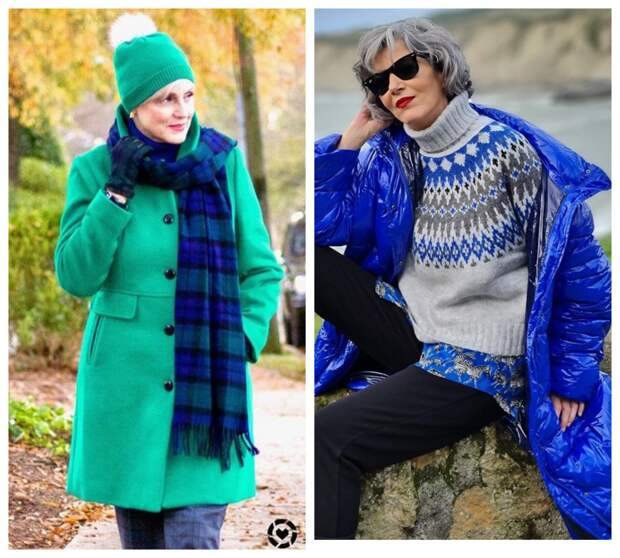 Фото 2 и 3 - яркие зимние образы.