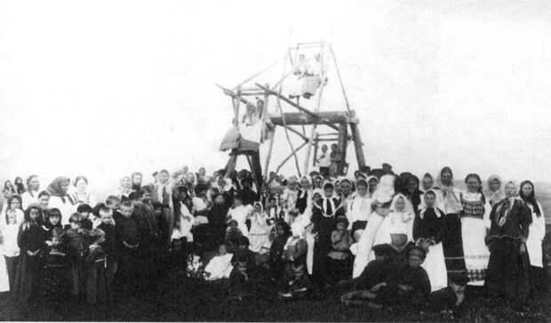 Пасхальная неделя. Север Европейской России, конец XX века.