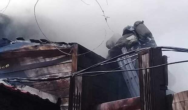 Неизвестные подожгли автомобиль и дом в СНТ Оренбурга