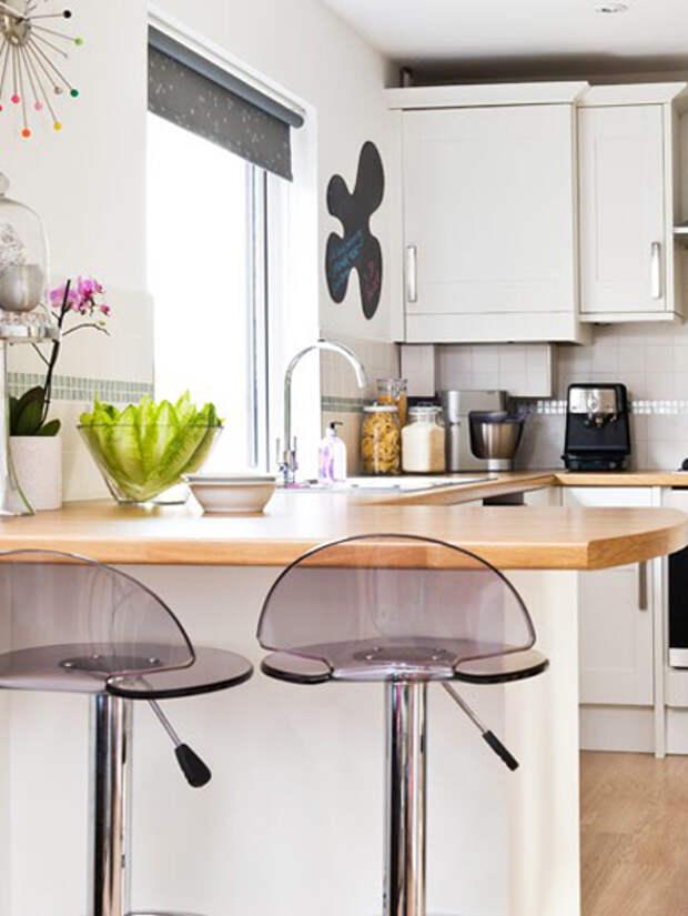 Дизайн маленькой кухни: обеденный стол - 07 - Портал Домашний