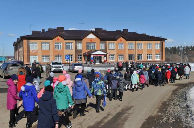 Новую школу открыли в Удмуртии