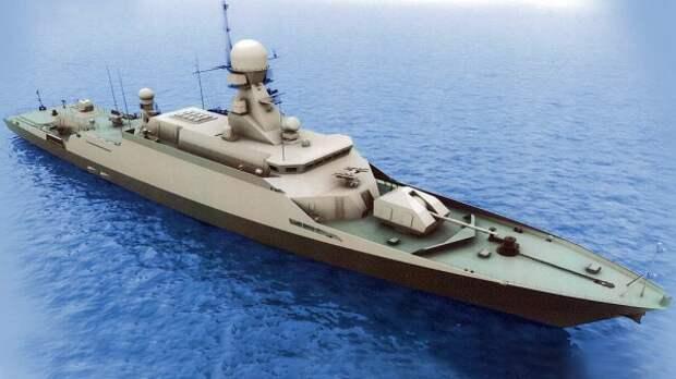 Черноморский флот будет усилен двумя ракетными кораблями