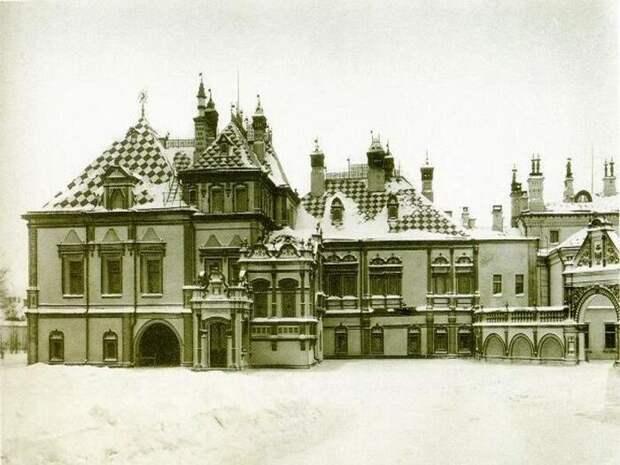 Дворец Юсуповых в Большом Харитоньевском переулке