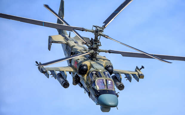 """Украина опасается """"российской агрессии"""" из-за переброски в ЮВО вертолетов Ка-52"""