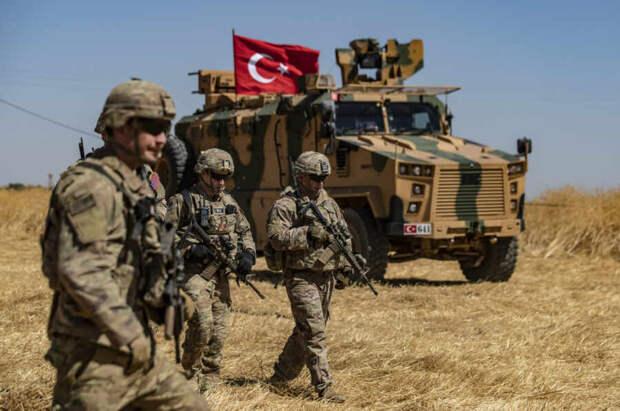 В Сирии в результате нападения на турецкий броневик погибли два военнослужащих