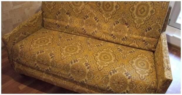 «У всех кризис, а у нас красота!» Преображение советского дивана