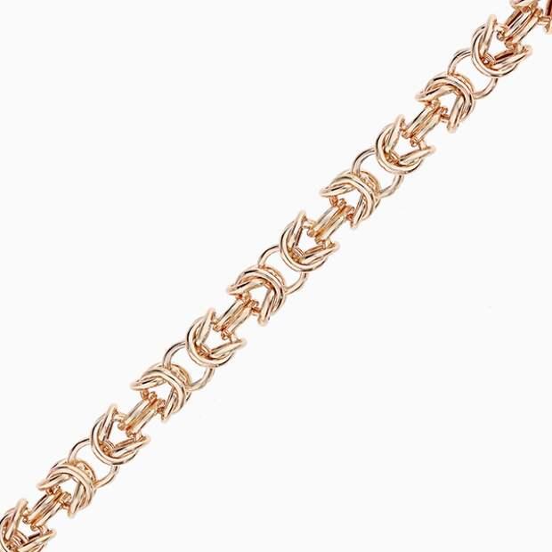 Цепь «Эвелирконтракт», розовое золото