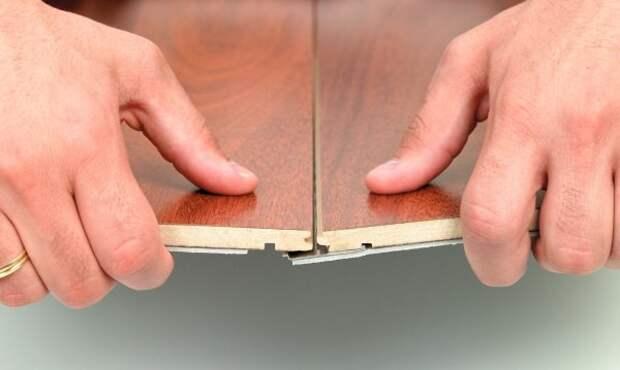 Как крепить ламинат на стену своими руками