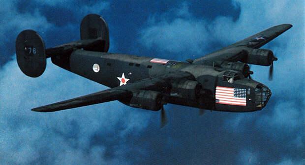 Consolidated B-24A Освободитель