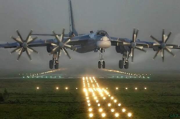 Лицом к лицу с «Медведем». Шок первой встречи США с  советским  Ту-95