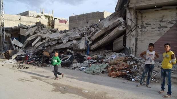 Сирия новости 26 марта 07.00: в Ракке ребенок подорвался на мине, в Идлиб прибыл конвой ВС Турции