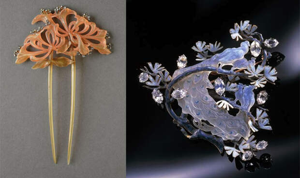 Гайар применял необычные способы обработки материала.