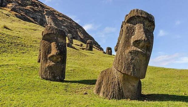 Остров Пасхи, культура, пасха, моаи