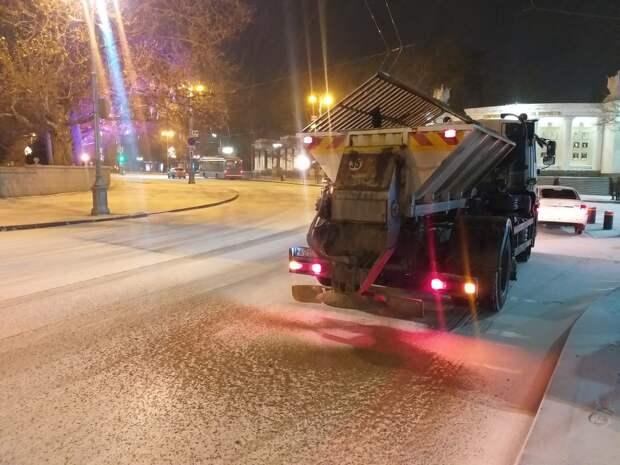 В Севастополе ожидается ледяной дождь в ближайшие сутки