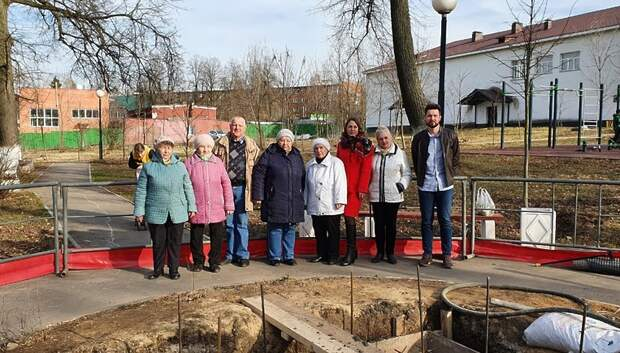 В поселке МИС Подольска начали возводить памятник землякам, погибшим в ВОВ