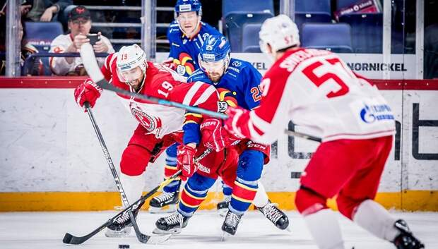 Подольский ХК «Витязь» сыграет с клубом «Сибирь» в Новосибирске 24 октября