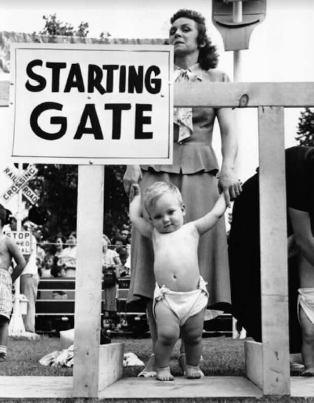 4 странных факта про детские гонки в Америке, в которых участвовали младенцы