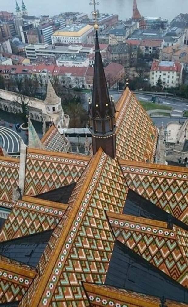 Це́рковь Ма́тьяша — католическая церковь в Будапеште Материалы, Фабрика идей, интересное, красиво, крыши, необычное, стройка