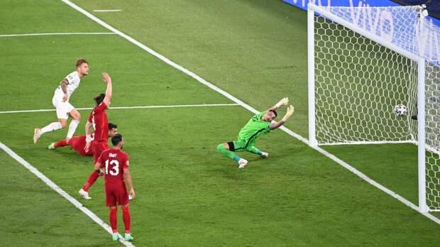 Сборная Италии обыграла Швейцарию на Евро-2020