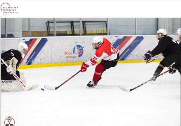 Хоккейная сборная МГПУ обыграла «Бауманку» всухую