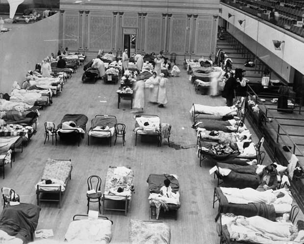 Эпидемия испанского гриппа 1918–1919 годов