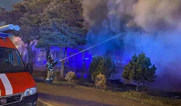 Домой разрешили вернуться эвакуированным из-за пожара ростовчанам