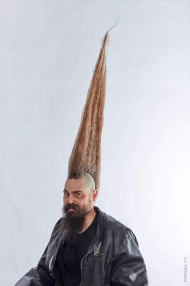 Самый длинный ирокез в мире