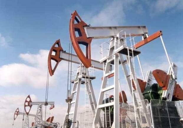 добыча нефти РФ