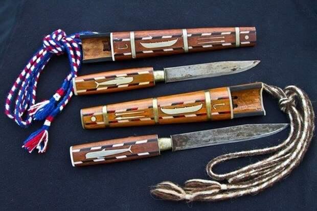 Нож Grindaknívur с рисунками