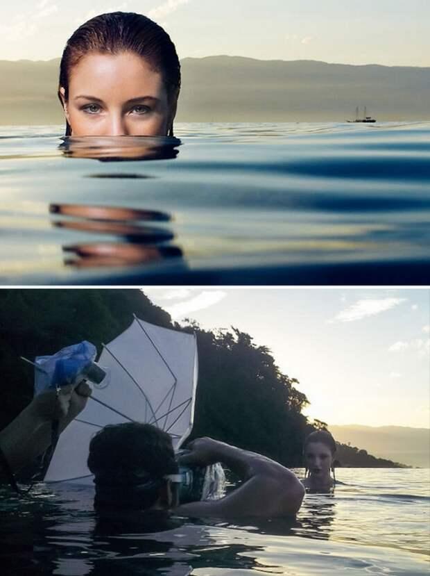 Как в жизни делаются красивые снимки (45 фото)