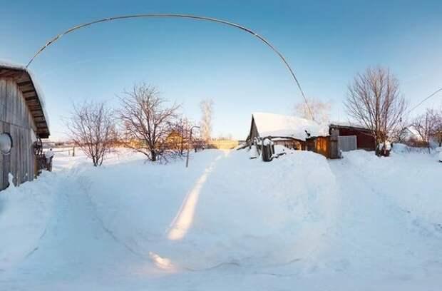 Почему не нужно утрамбовывать снег на дачных сотках